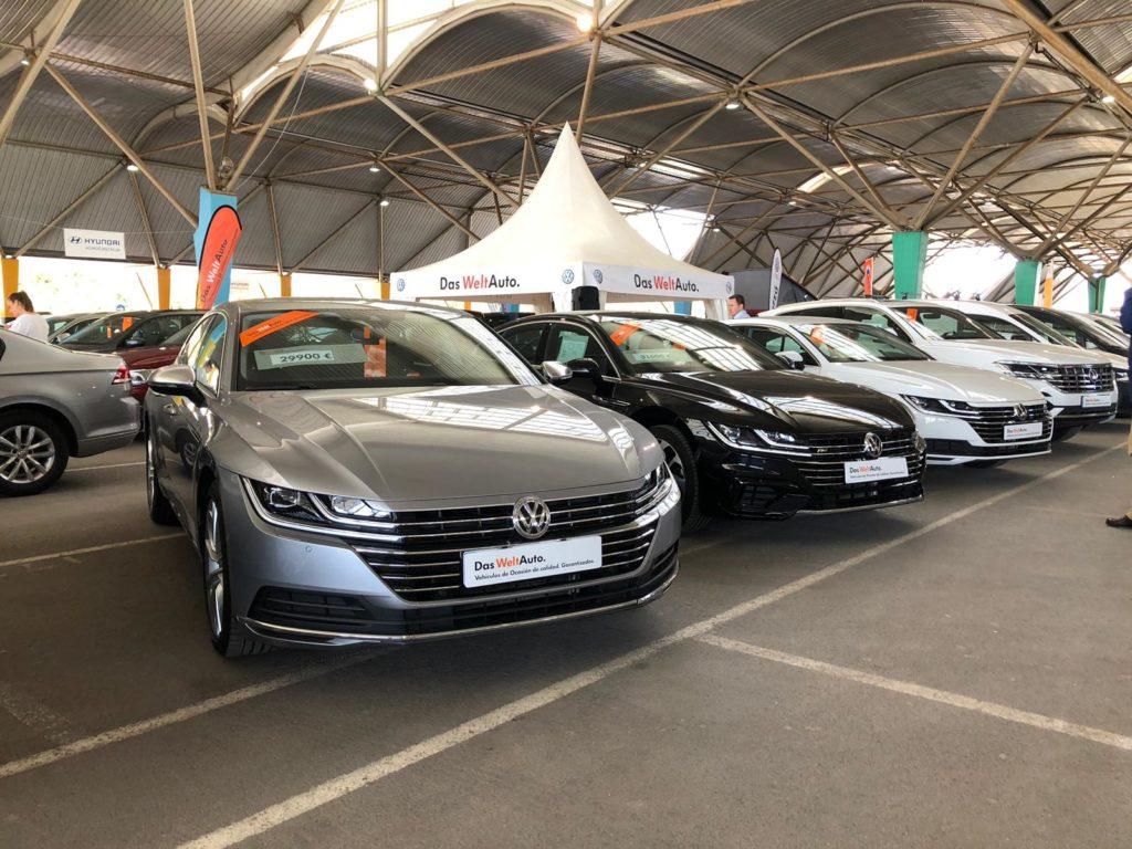 Audi y Volkswagen dan el toque de 'rock' a la feria de Motorocasión de Castellón
