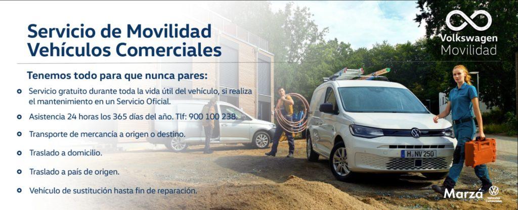 ¿Conoces el servicio de Movilidad Volkswagen para Vehículos Comerciales?