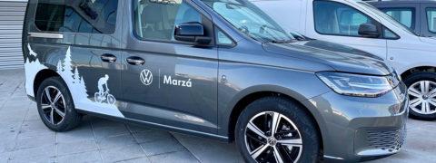 Encuentra tu Volkswagen Caddy 5 Maxi con rampa de rebaje de piso en Marzá